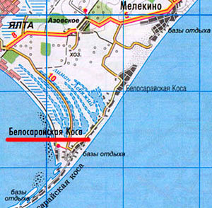 На побережье азовского моря