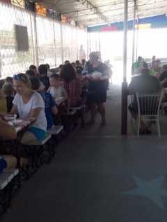 Сдам кафе 434 кв.м + киоск в Кирилловке (Федотова коса)на се фото